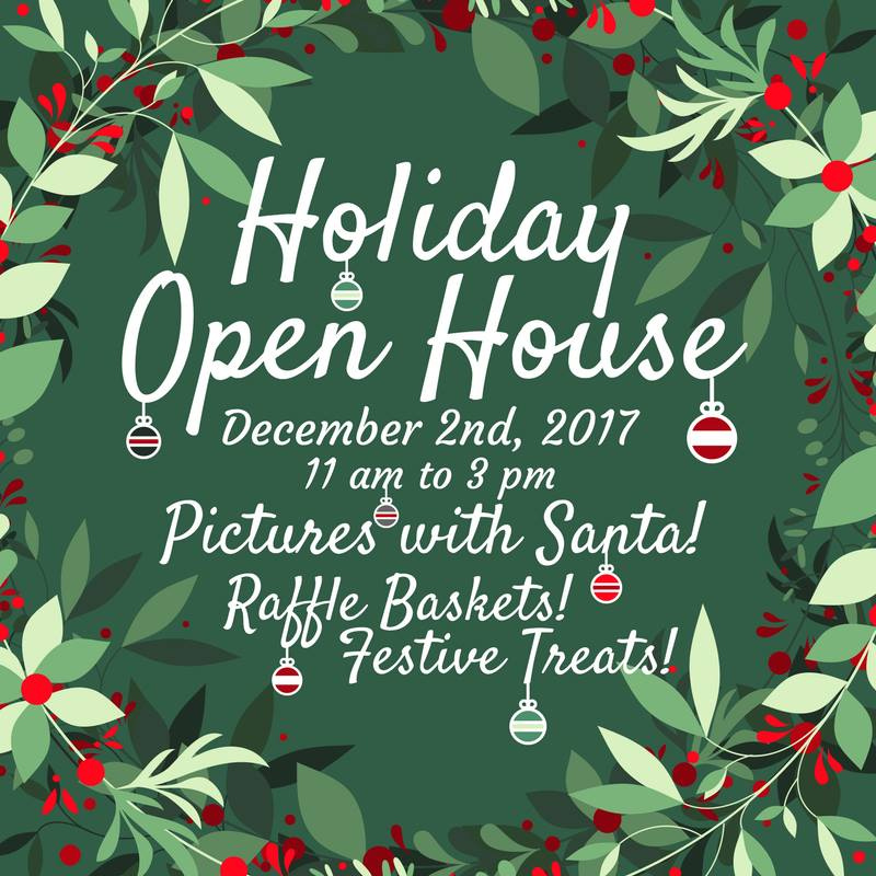 holiday open house - Humane Society Christmas Cards