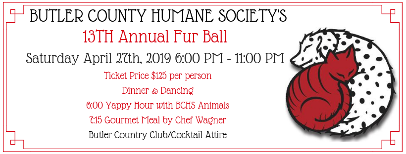 Upcoming Events | Butler County Humane Society